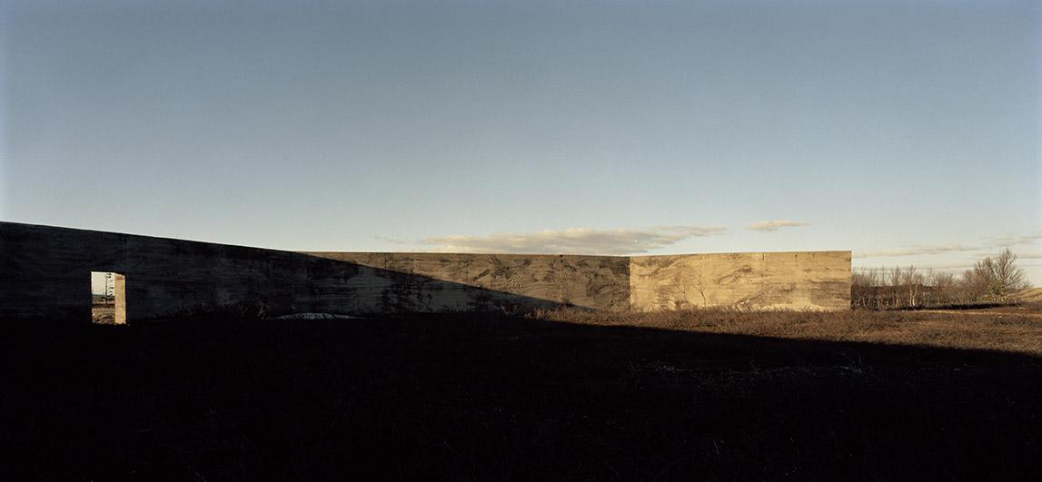 Betonmur i Finnmark
