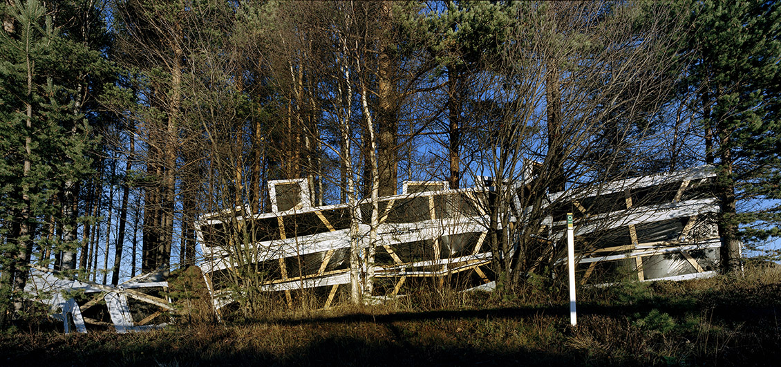 Plast i skov, Kiruna