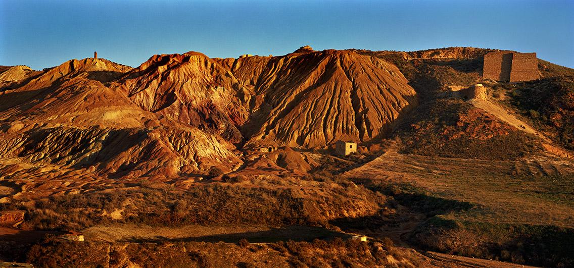 Røde bjerge